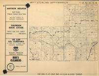 Jefferson, Sterling, Franklin T12N-R5W, Vernon County 1955